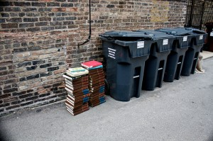 books-trash