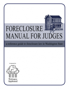 Foreclosure Manual for Judges