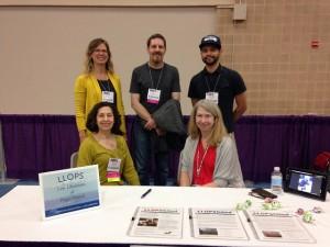 LLOPS Members at LLOPS Table